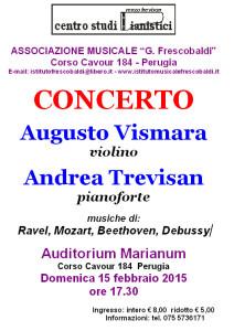 Concerto Vismara e Trevisan